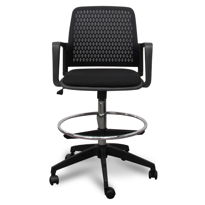 COC610-LF Drafting Office Chair - Black
