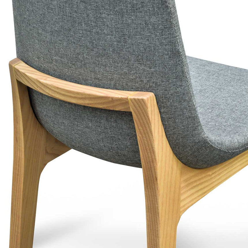 CDC267 Dining Chair - Light Grey - Natural