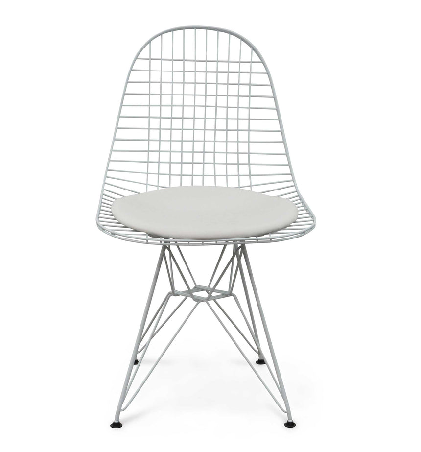 CDC139-SD Wire Dining Chair - White