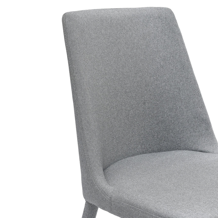 CDC2240-EI Fabric Dining Chair - Coin Grey