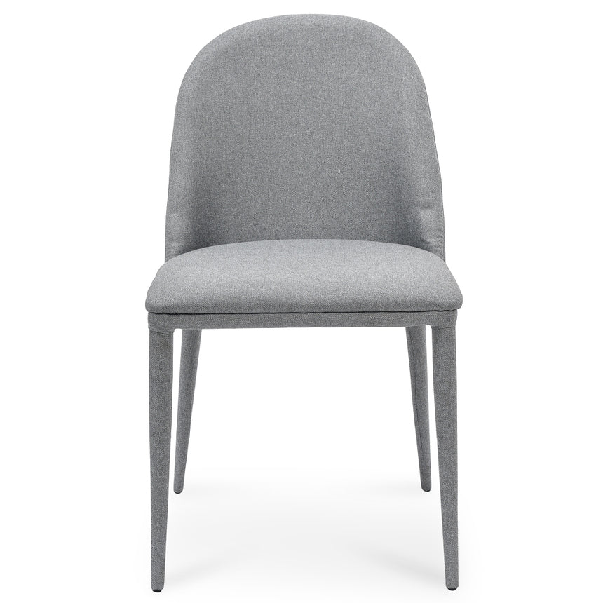 CDC2241-EI Fabric Dining Chair - Coin Grey