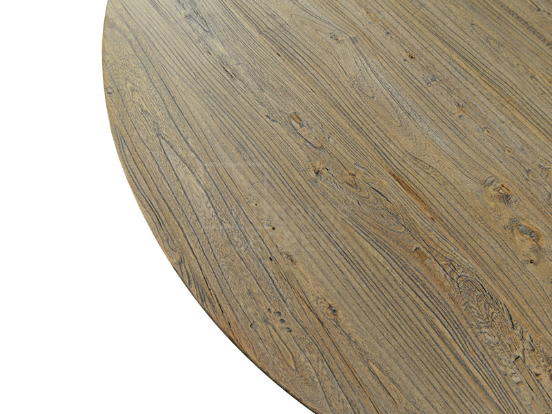 CDT572 Reclaimed 1.25m Round Dining Table