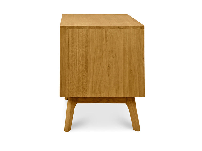 CCF487 Wooden Bedside Table - Natural Oak