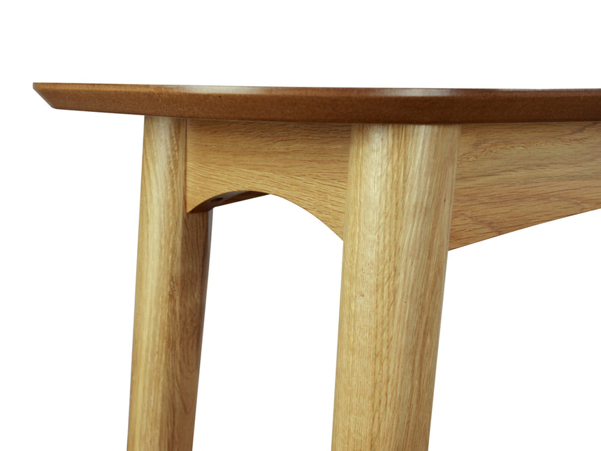CDT777-VN Narrow Wood Console Table with Shelf