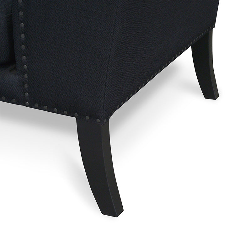 CLC2042-CA Lounge Chair in Black
