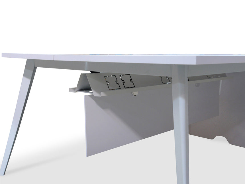COT340 4 Seater 3.2m Office Desk