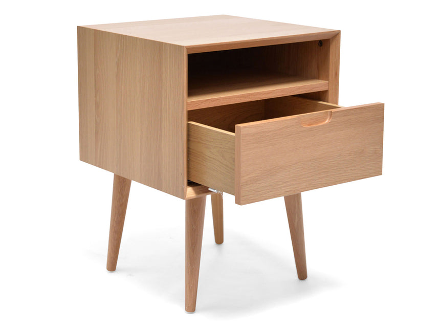 CCF695-VN SQ Wooden Bedside Table