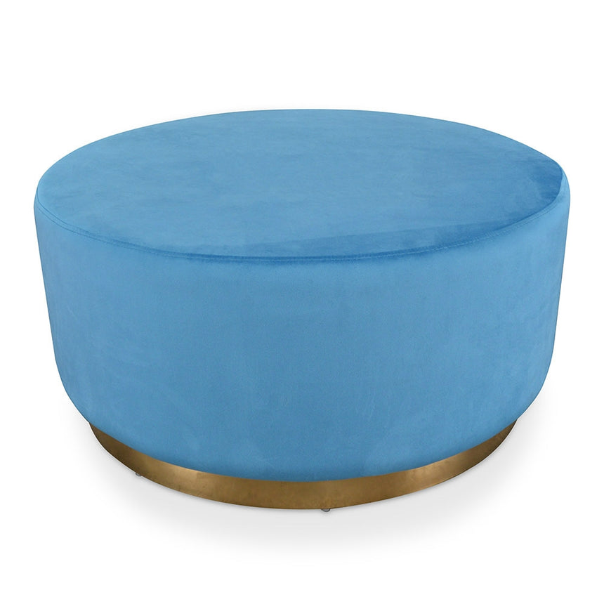 CLC2060-DW Ottoman - Light Blue Velvet