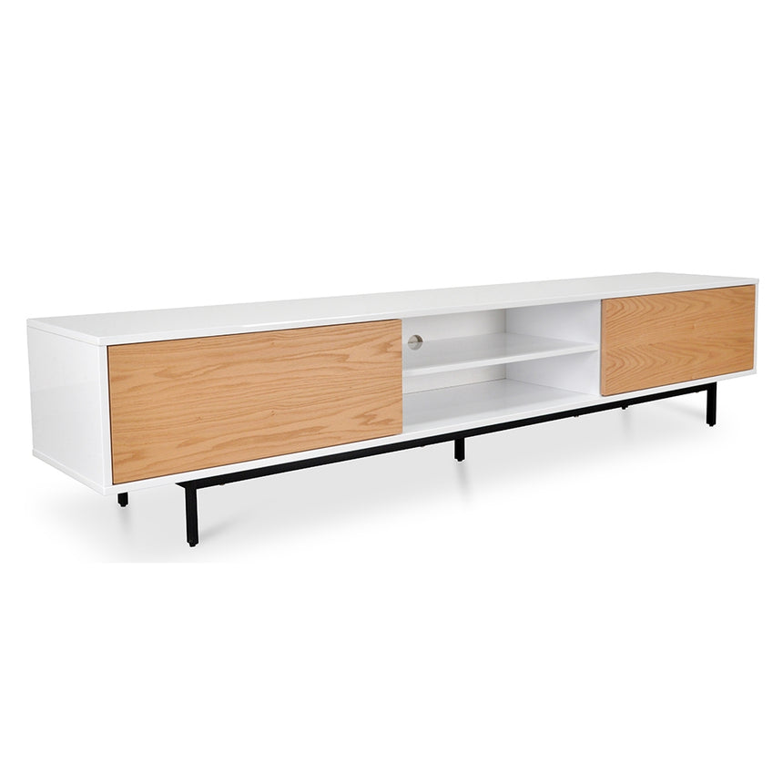 CTV1137-BB 2.3m TV Entertainment Unit - Lowline - Natural