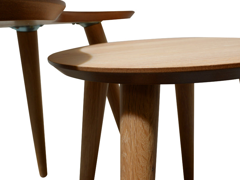 CCF693N-VN Nest of Side Tables - Natural