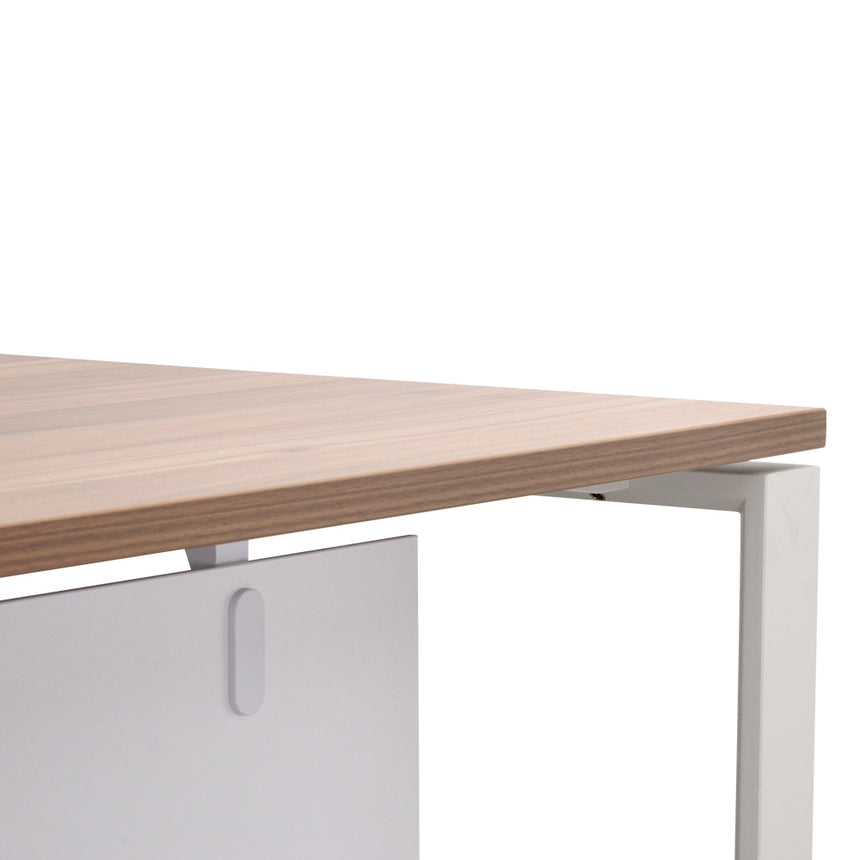 COT2091-SN Executive Office Desk with Right Return - Walnut