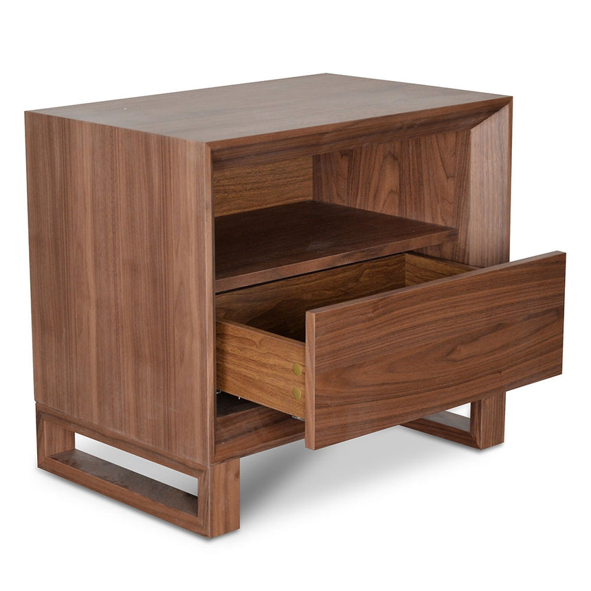CST2143-CN Bedside Table - Walnut
