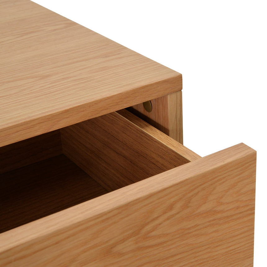 CST2164-CN Bedside Table - Natural Oak