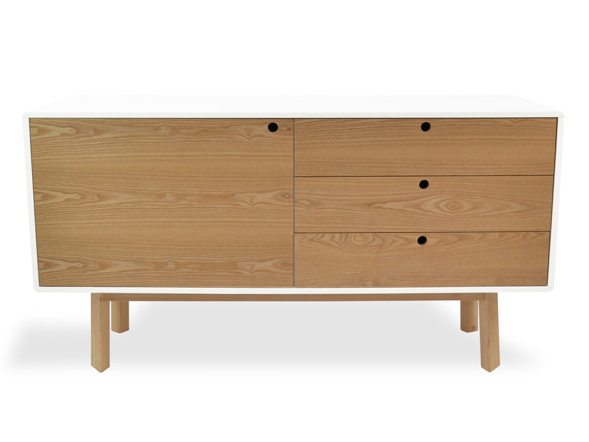 CDT6171-DW Sideboard and Buffet - Natural and White