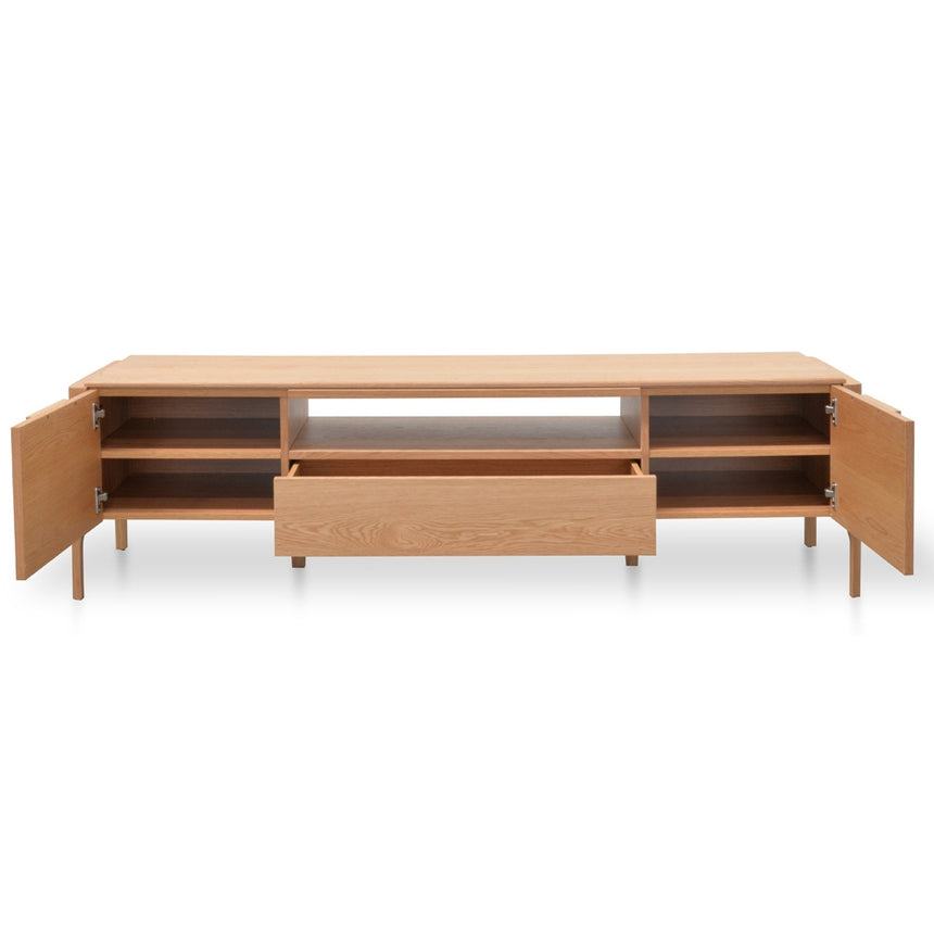 CTV2133-CN 180cm Entertainment TV Unit - Natural Oak