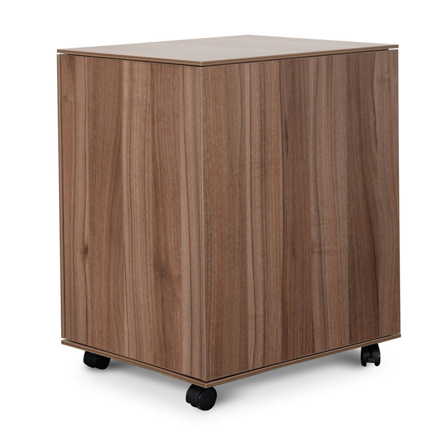 COF294 2 Drawer Mobile Pedestal - Walnut