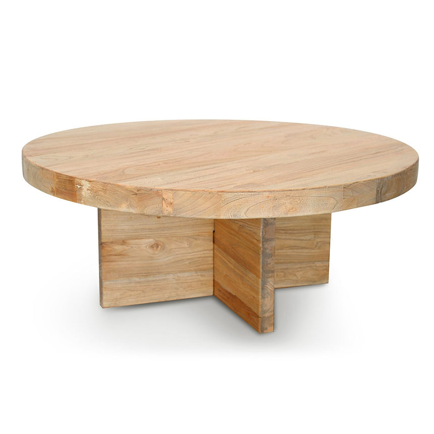 CCF2079 100cm Round Coffee Table - Natural