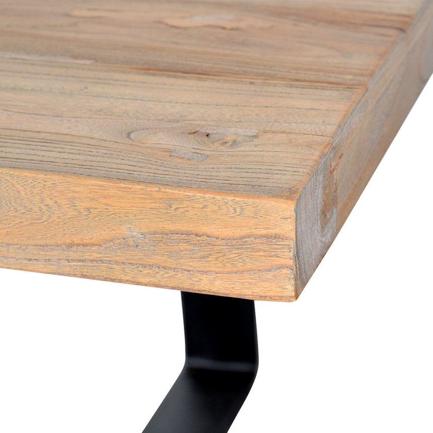 CDT2241 Reclaimed Dining Table 2.4m - Rustic Natural