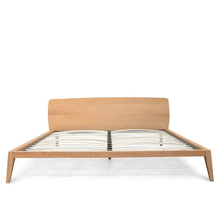 CBD2161-CN King Sized Bed Frame - Natural Oak