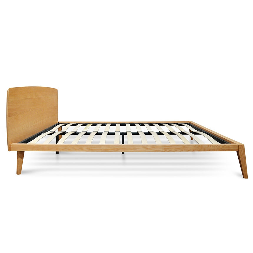 CBD2159-CN Queen Sized Bed Frame- Natural Oak