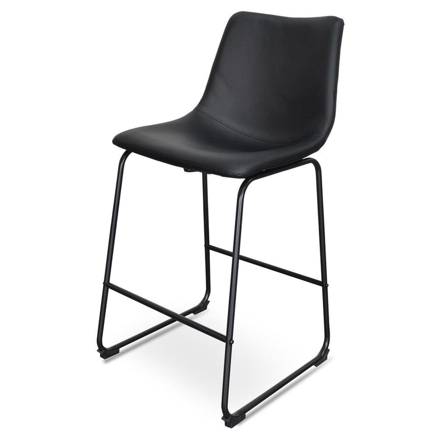 CBS2086-SE 65cm Bar Stool -  Black (Set of 2)