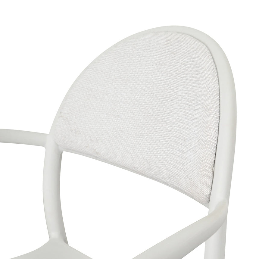 CDC1200-SD Dining Chair - White