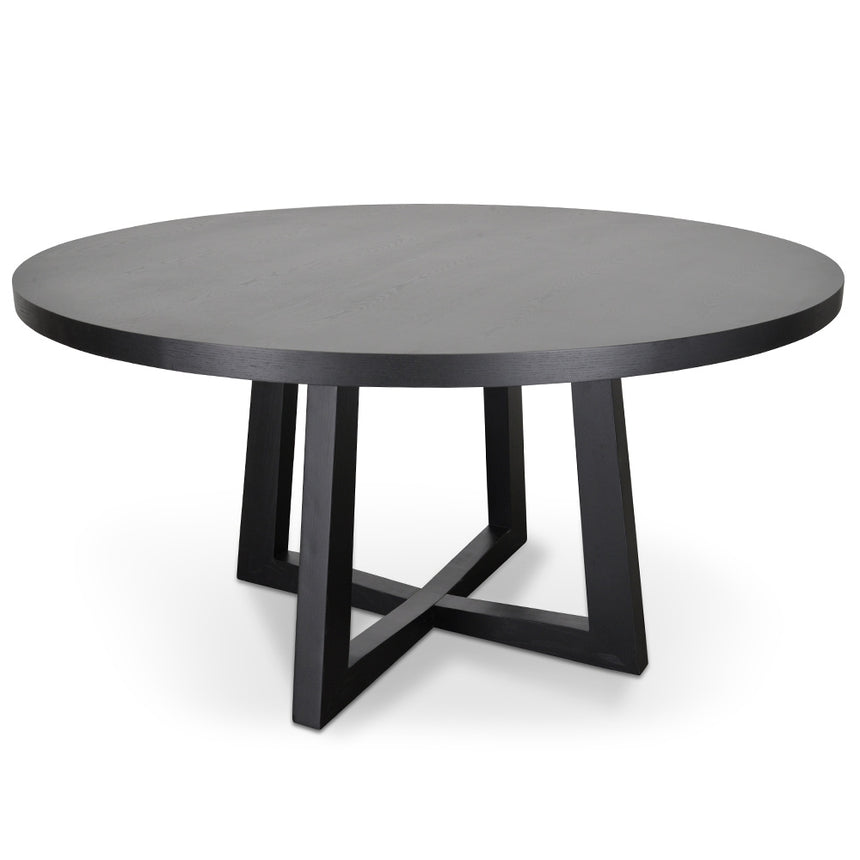 CDT584-SD 1.5m Dining Table - Black