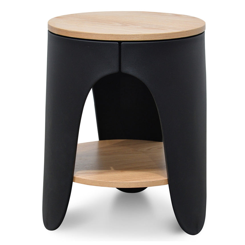 CST2225-SD Side Table - Natural - Black