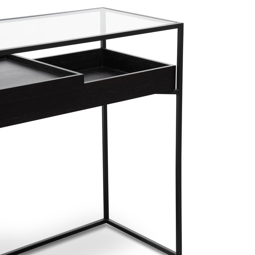 CDT2295-IG Metal Frame Console - Black