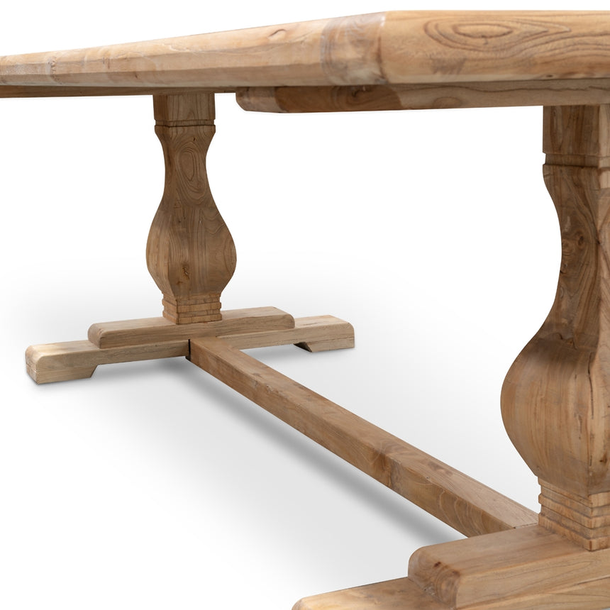 CDT510 Dining Table 1.98m - Rustic Natural