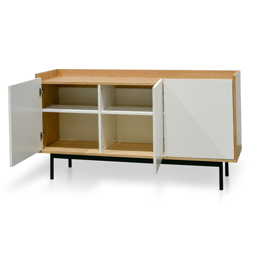 CDT2411-KD Sideboard and Buffet - White and Natural