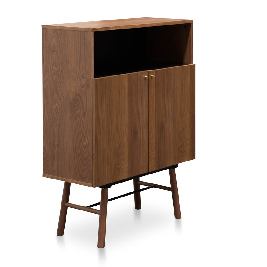CDT2554-DW 2 Doors Side Cupboard - Walnut Veneer