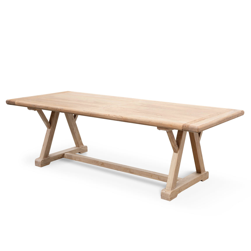 CDT2576 Reclaimed Elm Wood 2.4m Dining Table