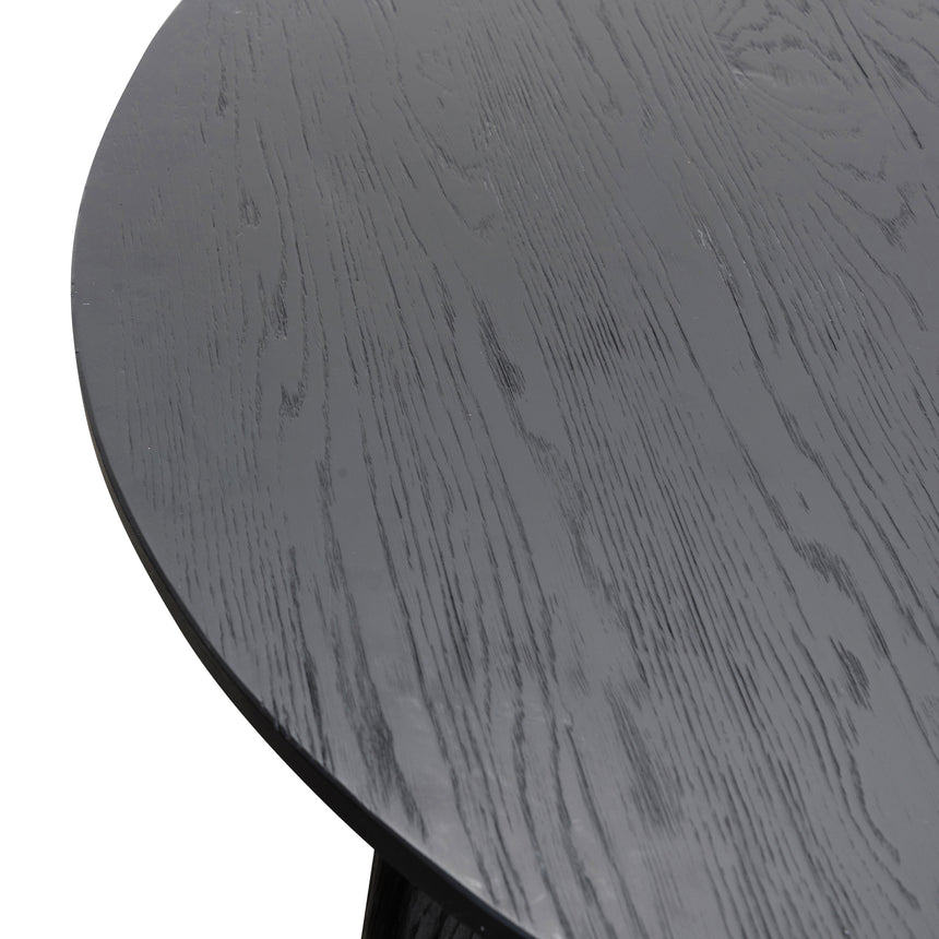 CDT2607-NI 1.25m Round Dining Table - Black