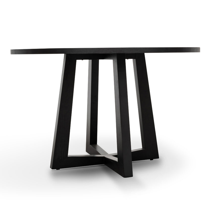 CDT587-SD 1.2m Dining Table - Black