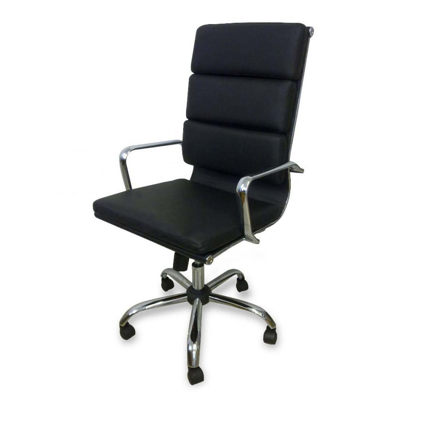 COC110 Soft Pad Boardroom Office Chair - Black