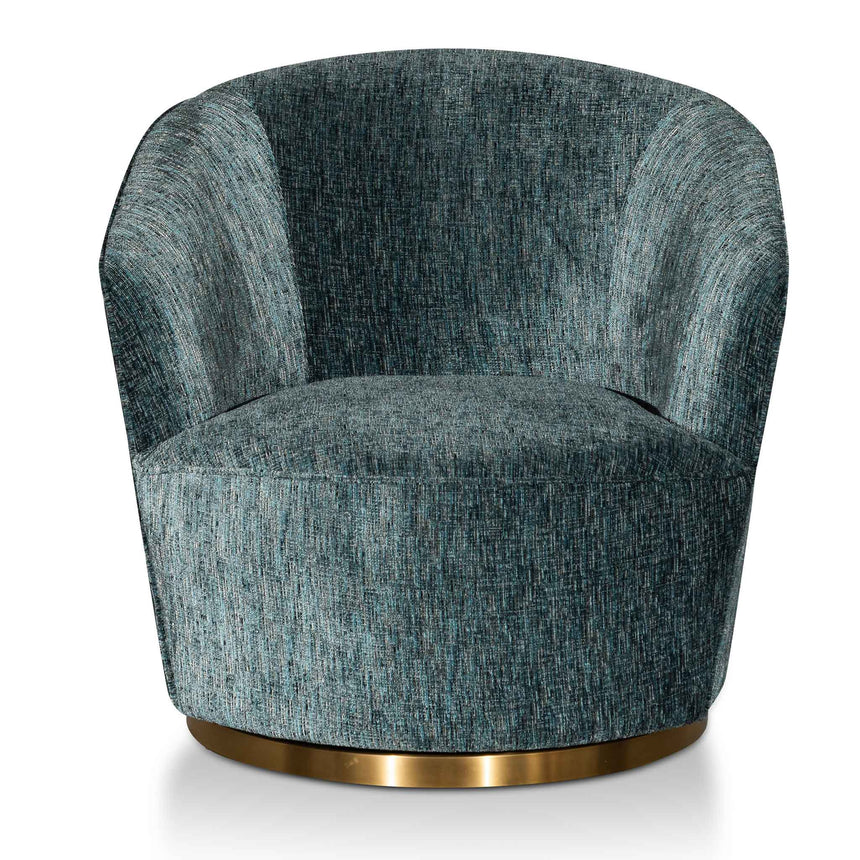 CLC6271-BS Fabric Lounge Chair - Emerald Green