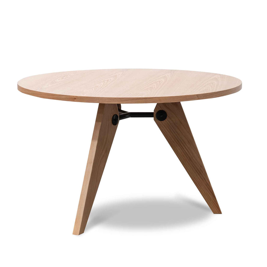 CDT135  Round Dining Table - Natural Ash