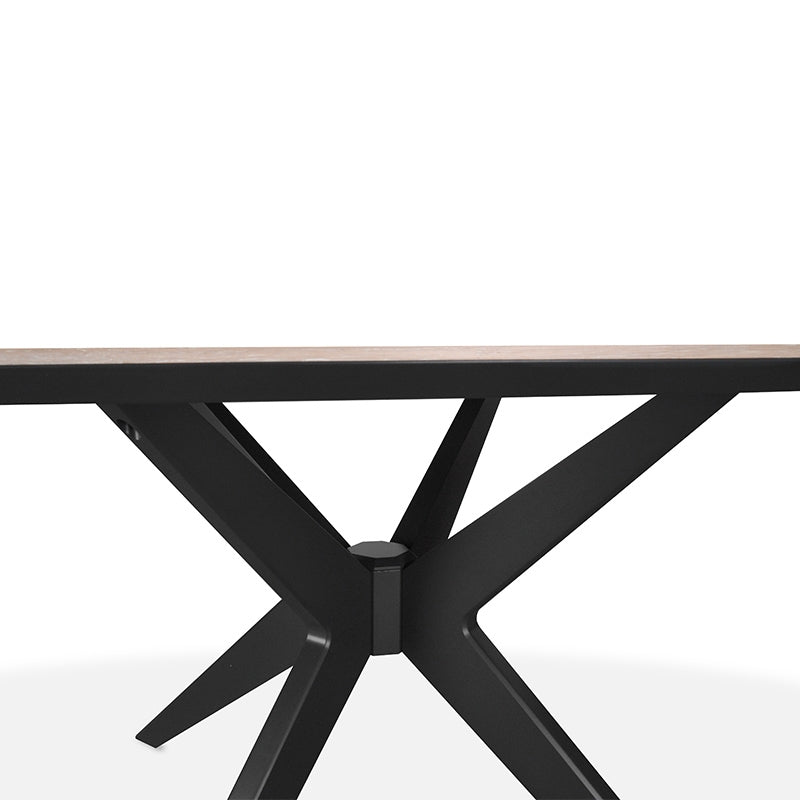 CDT2019-VN 195cm Eliptical Dining Table