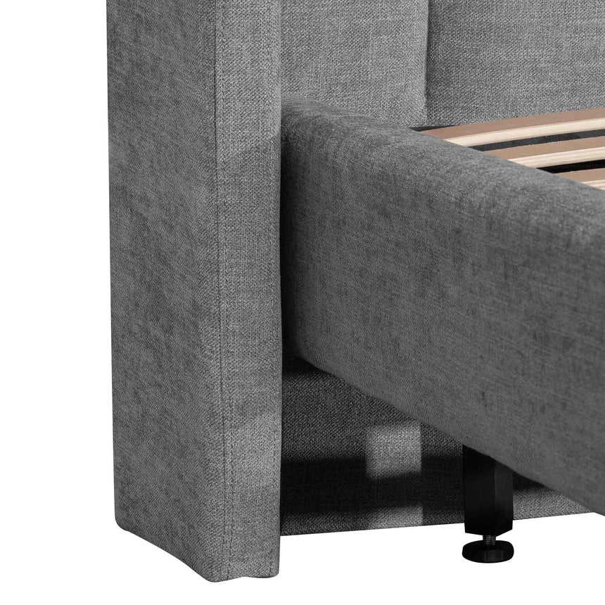 CBD6301-MI King Bed Frame - Flint Grey
