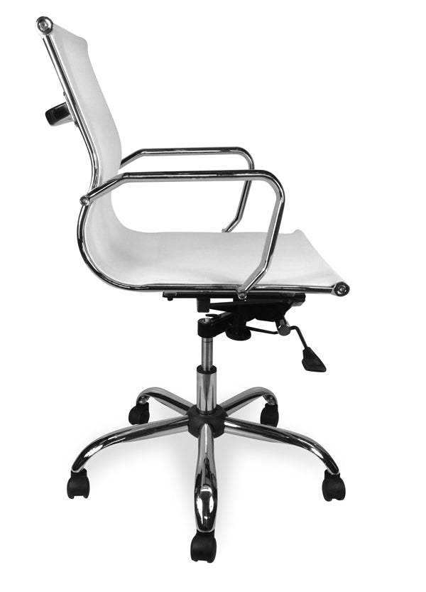COC211 Designer Mesh Boardroom Office Chair - White