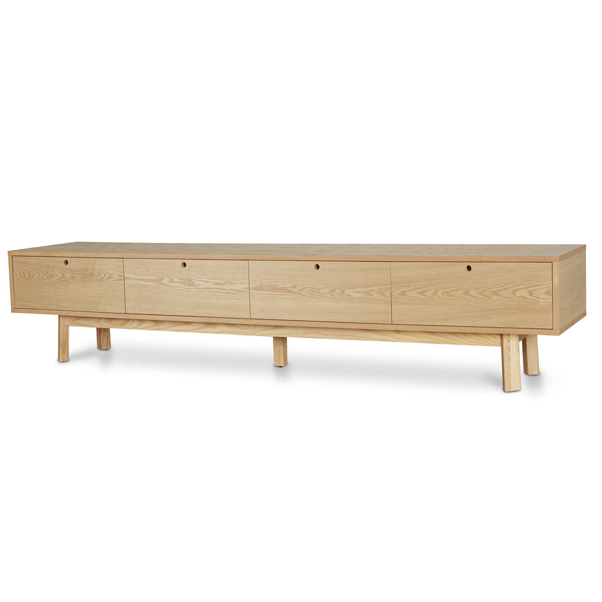 CTV864-DW 2.2m ScandinavianTV Entertainment  Unit - Natural