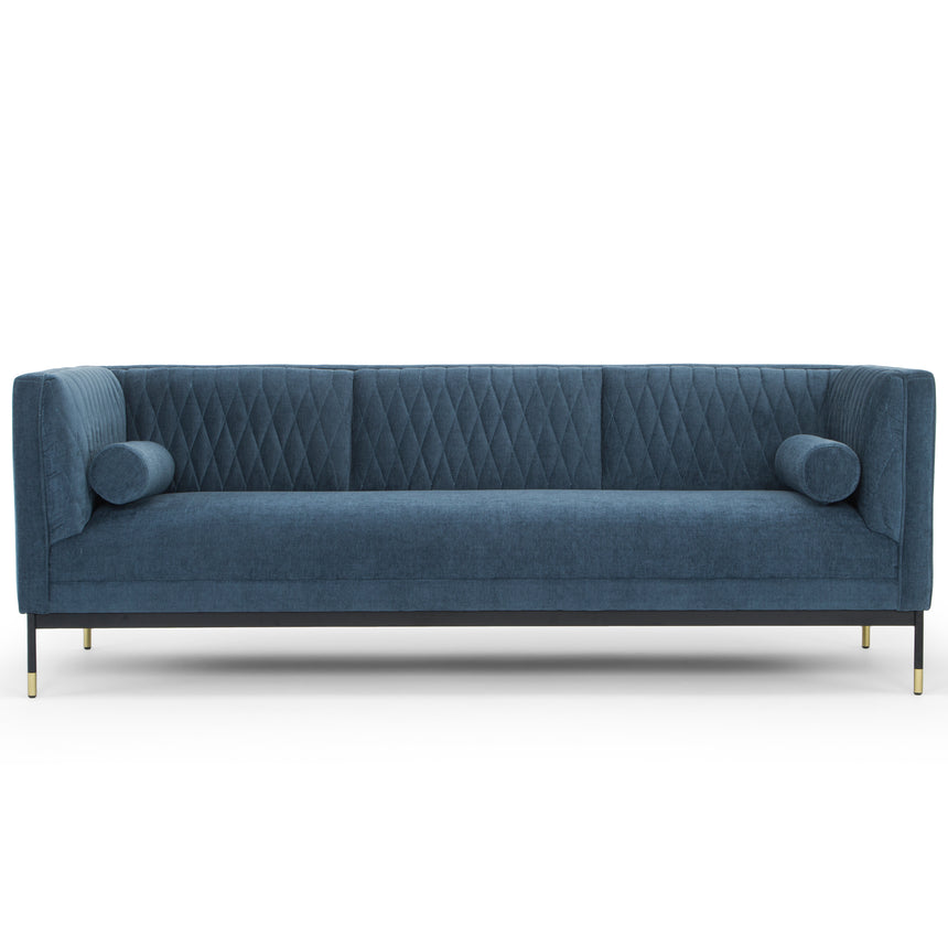 CLC6245 3 Seater Fabraic Sofa - Dusty Blue