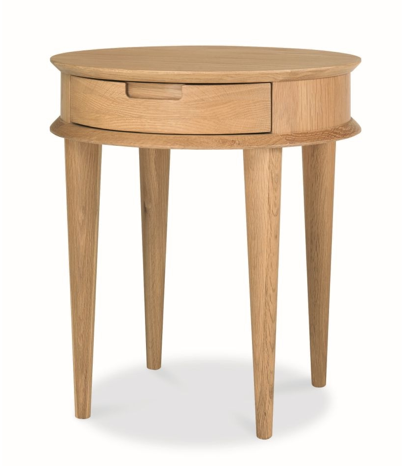 CCF860-VN Scandinavian Lamp Side Table - Natural