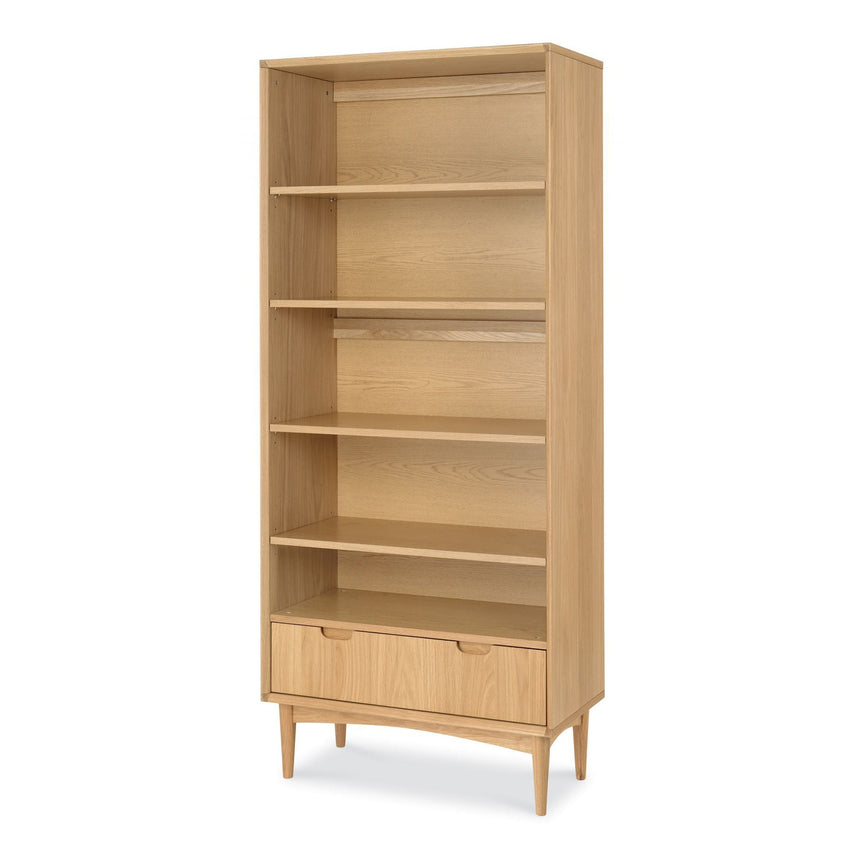 CDT768-VN Wide Bookcase - Natural