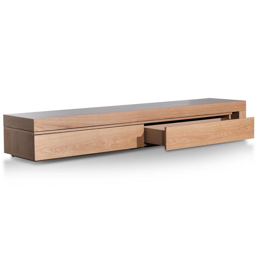 CTV6200-CN Extendable TV Entertainment Unit - Natural Oak