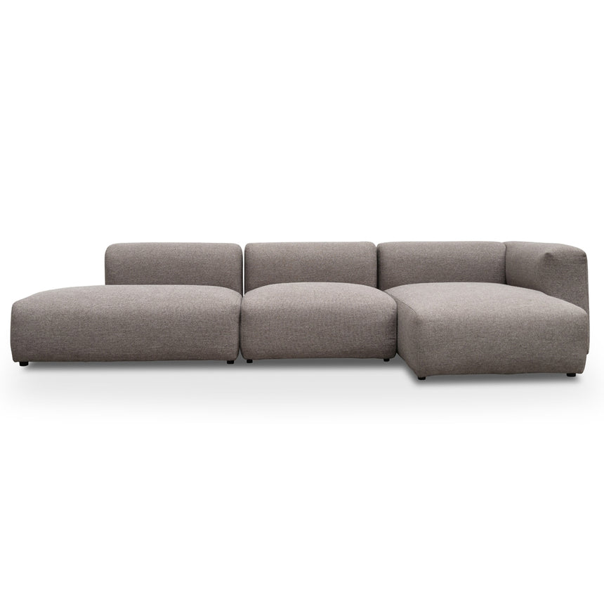 CLC2378-UN 3 Seater Right Chaise Sofa - Cloud Grey
