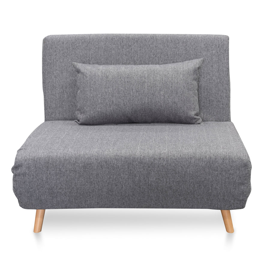 CLC2507-DCO Single Seater Sofa Bed - Cloudy Grey