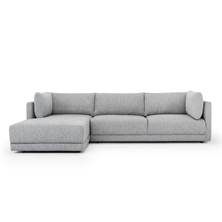 CLC2745-FA 3 Seater Left Chaise Sofa - Graphite Grey