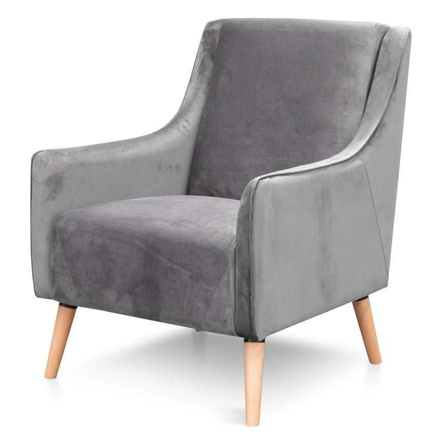 CLC6512 Armchair - Rust in Black Leg